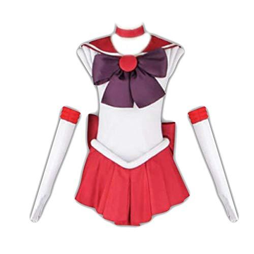 Dream2Reality Sailor Moon Sailor Mars REI Hino Cosplay Costume 1st Ver Fighting Medium