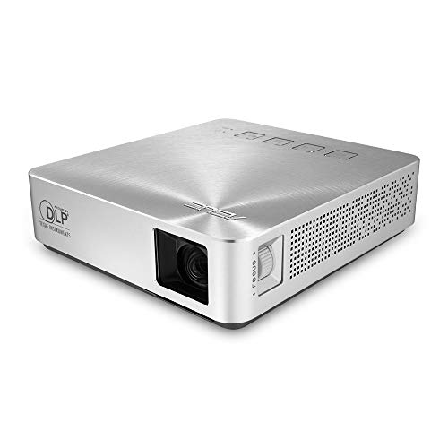 ASUS S1 Portable Mini Projector HDMI/MHL with Speakers| Ultra-short throw | Up to 3 hours Battery | Power Bank | 2 Years Warranty