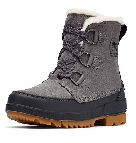 Sorel Women's Tivoli IV Boot - Light Rain and Light Snow - Waterproof - Quarry - Size 7