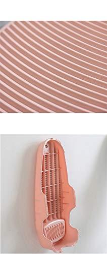 (グードコ)キッチン洗濯グッズ厚め滑り止め洗濯板衣類洗濯ホールド式洗濯板摩擦ミニ洗濯板ウォッシュボード取っ手付きプラスチック多機能吊り下げクリーニングツール(ピンク,F)