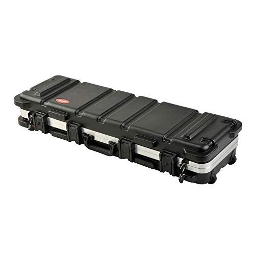 SKB Cases 2SKB-4009 Hard Exterior ATA 300 Category 1 Waterproof Short Double Rifle Transport Case, Black