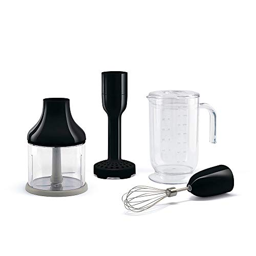 SMEG HBAC01BL staafmixer accessoires, 18/8 roestvrij staal, 500 milliliter