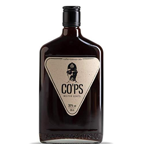 CO'PS - Der Kaffee- Kolanuss- Likör | 30% Vol. Alkohol | Enthält natürliches Koffein | 100% natürliche Zutaten | 1x0,5 l