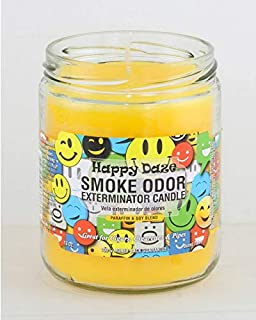 Smoke Odor Exterminator 13oz Jar Candles (Happy Daze, 1), 13 oz,