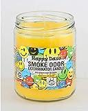 Smoke Odor Exterminator 13oz Jar Candles (Happy Daze, 1), 13 oz