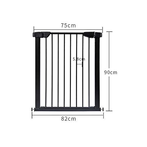 Evenflo Position and Lock Farmhouse Pressure Mount Gate Baby-Pet Gate Dark Wd