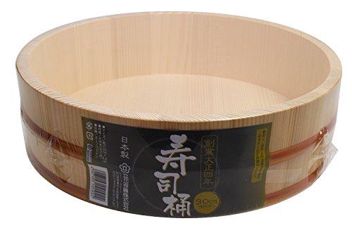 Fuji Merchandise HK30-N 29,2 cm SUSHI OKE, Einheitsgröße, cremefarben