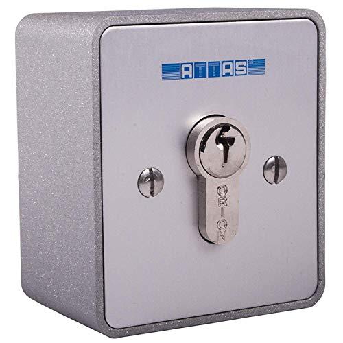 Schlüsseltaster zweiseitig tastend aufputz Torantriebe Garagentorantriebe Hörmann BFT (Verschiedenschließend)