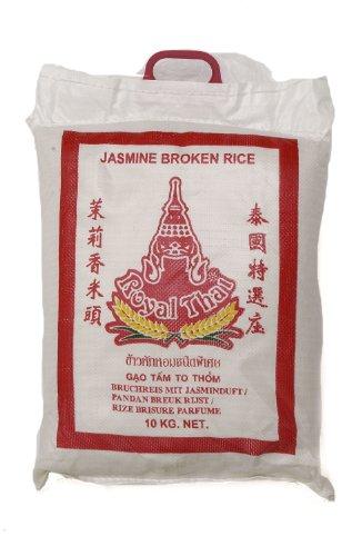 Royal Thai Jasmine Duftreis Bruchreis - Gebrochen 10Kg