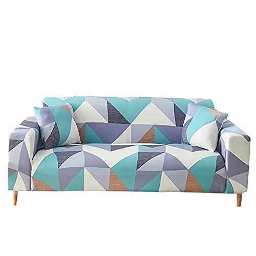 WXQY Funda de sofá Todo Incluido Funda de sofá elástica seccional Antideslizante,Toalla de sofá Funda de sillón Funda de sofá de Esquina A1 4 plazas