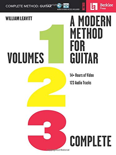 A Modern Method for Guitar - Complete Method: Volumes 1, 2, and 3 with 14+ Hours of Video and 123 Audio Tracks