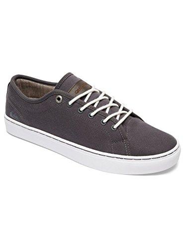 Quiksilver Herren Cove Canvas Sneakers, Grey Grey White, 43