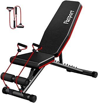 FBSPORT Weight Bench Adjustable Strength Training Workout Bench