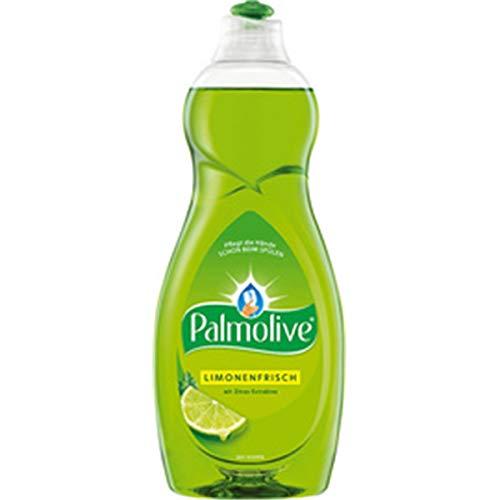 Palmolive Spülmittel Limonenfrisch 750ml, mit Zitrus-Extrakten, pflegt die Hände beim Spülen, Geschirrspülmittel