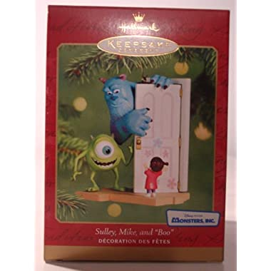 Monsters, Inc. 2001 Keepsake Ornament - Sulley, Mike, and  Boo