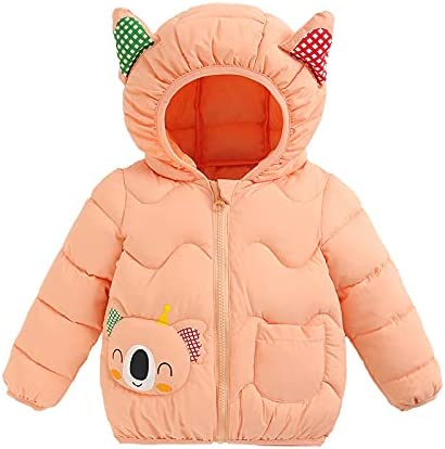 Children's Down Padded Jacket Blue Autumn and Winter New Children's Padded Jacket Boys and Girls for 12-18 Months