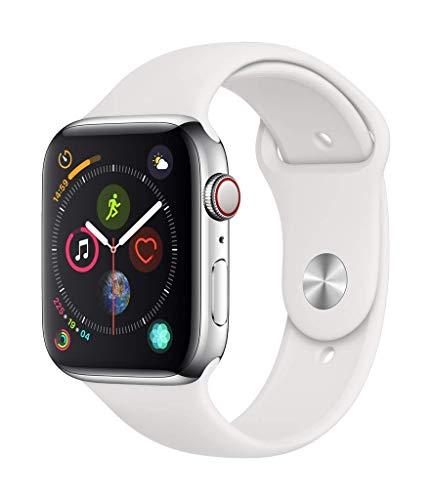 Apple Watch Series 4 44mm (GPS + Cellular) - Boîtier En Acier...