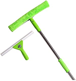 YPQDZCP Window Cleaner Glass Cleaner Multi-purpose Wiper Cleaning Tool (Color : Green)