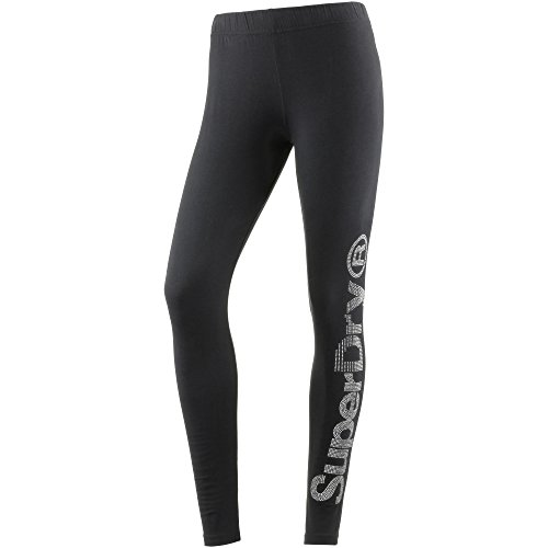 Superdry Damen Leggings schwarz XS