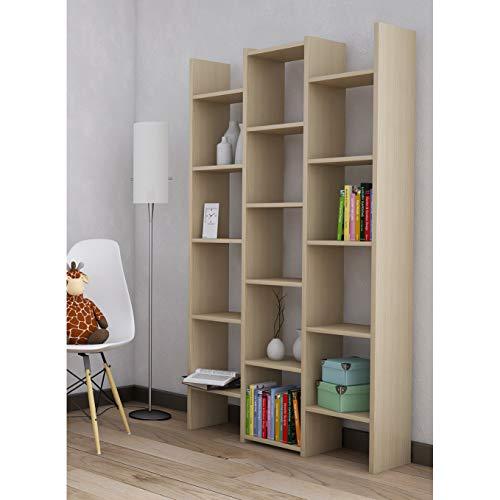 libreria olmo Libreria 3 colonne olmo 180 h cm