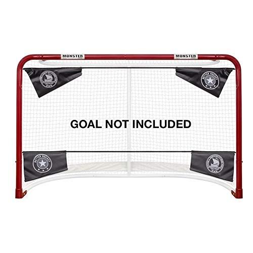 Better Hockey Extreme Pro Shooting Targets - Trainingshilfe zur Verbesserung der Genauigkeit - Hilft Ihnen, mehr Tore zu schießen - In Sekundenschnelle aufgebaut- Passt zu Netzen jeder Normgröße