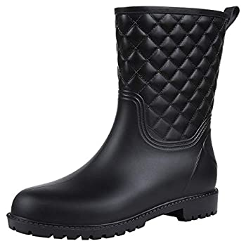 Best quilted rain boots Reviews