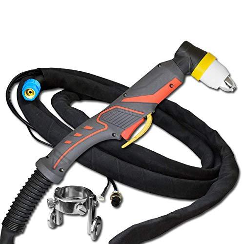 STAHLWERK P80 120A Brenner Schlauchpaket 5m Schneidbrenner für Plasmaschneider mit Pilotzündung für Geräte CUT 70/70 S, CUT 100, CUT 120/120 S geeignet