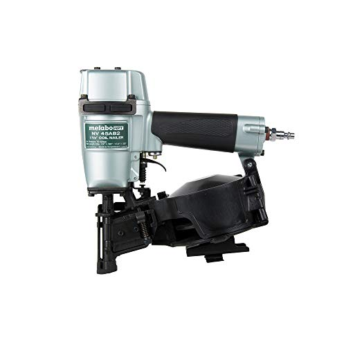 Metabo HPT Roofing Nailer, Pneumatic, Coil Roofing Nails from 7/8-Inch up to 1-3/4-Inch, 16 Degree Magazine...