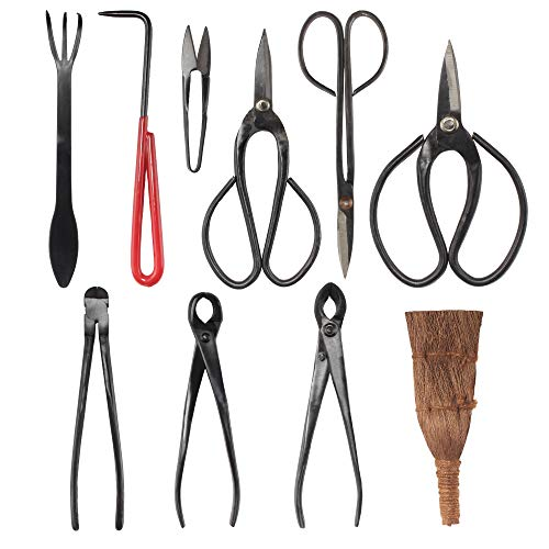 BambooMN Bonsai Tool 10pc Advanced Care Set