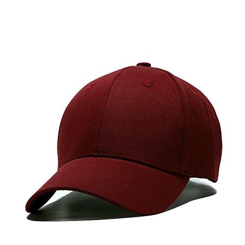 JEEDA Baseballmütze Snapback Hiphop Sport Hut Einstellbare Kappe Mütze Unisex Flat Brim Baseball Cap für Damen Herren JCBQ
