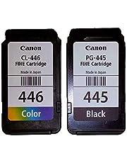 بطاقة كانون بألوان متعددة PG445 BK&CL446 CLR