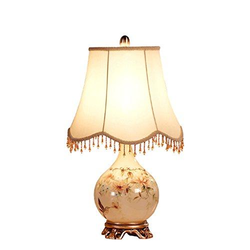 Lámparas de escritorio Americana lámpara de Mesa de jardín Europea Dormitorio lámpara de cabecera de la Manera Creativa lámparas Simples Modernos Lámparas de Mesa y mesilla de Noche HUYP