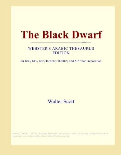 The Black Dwarf (Webster's Arabic Thesaurus Edition)