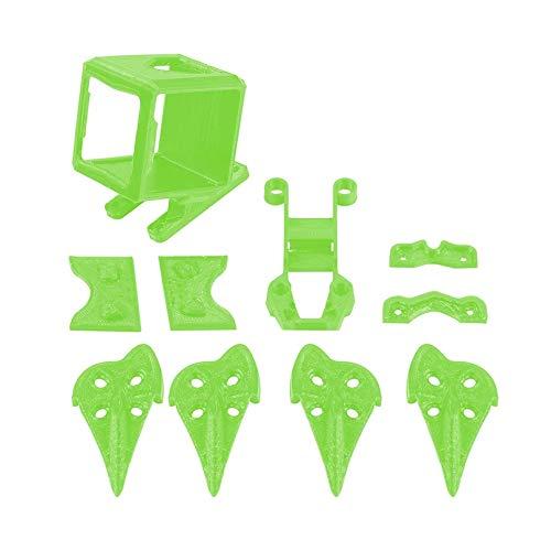 XUSUYUNCHUANG Supporto 3D Stampato TPU Camera Mount Piazza Compatibile con Filtro ND for GoPro Eroe 4/5 Sessione XL/DC/SL RC FPV Race Dron Accessori Drone (Color : Square Kit)