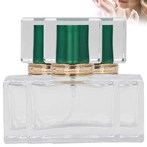 Atomizador recargable del perfume de la botella del aceite esencial para el perfume para la loción del cuidado de la piel(green)