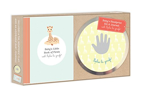 Baby's Handprint Kit and Journal with Sophie La Girafe(r)