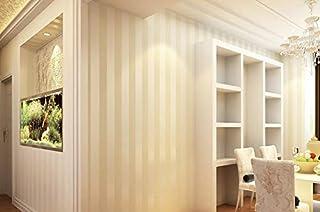 5a4a14e0283 Papel Pintado de Pared 3D Rayas verticales amarillas Moderno No-Tejido de  Papeles Muro Decoración