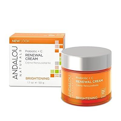 Andalou Naturals Probiotic + C Renewal Cream, 1.7 Ounce