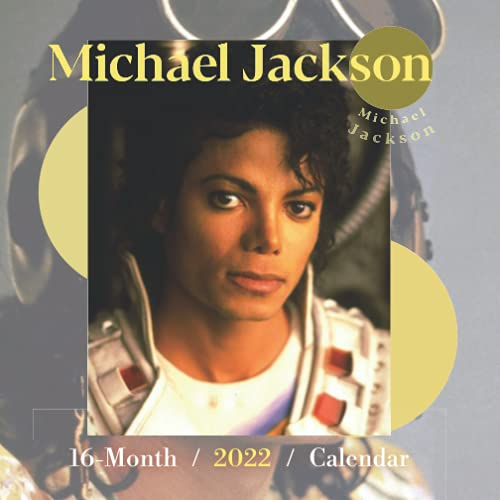 2022 Calendar: Michael Jackson Yearly Monthly 16-month Mini Calendar 2022 with Large Grid for Planning, Scheduling, and Organizing