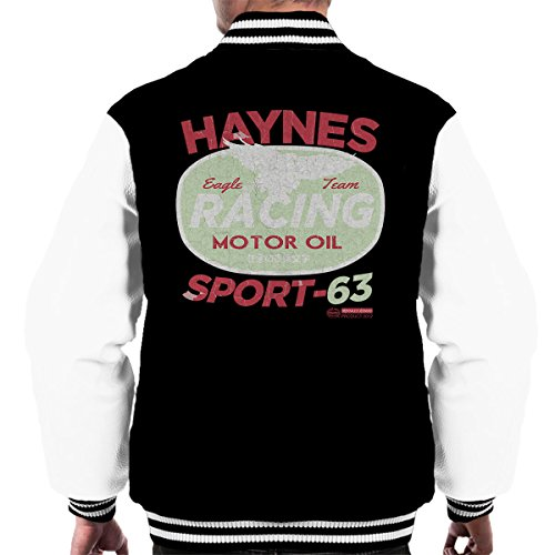 Haynes Eagle Team Racing Motorolie Varsity Jacket voor heren