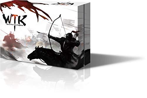 YOKA GAMES - Sanguosha WTK Kingdom Wars Guerra de Los Tres Reinos Juego de Mesa Estratégica Cooperativa para Fiesta Juego de Cartas Hero China Oriental Divertido(Versión Guerras de los Reinos Inglés)
