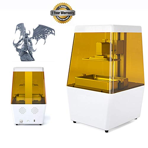 3.5 Inch Touch Screen 3D Printer U Disk Offline Printing Photosensitive Resin 3D Printer One-Piece Shell Filters Ultraviolet Rays