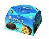 Torta Pasquale Melegatti 'Uovo Nocciolone' Con Doppia Copertura Di Nocciole Tostate Cioccolato Bianco E Al Latte 750 gr