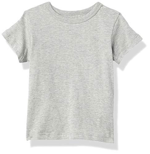 The Children's Place baby boys Short Sleeve Basic T-shirt T Shirt, Smokeb10, 2T US