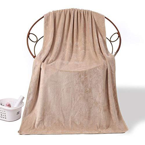 N/A Sábanas de baño Grises, Toalla de baño Grande 80 * 180, Toalla de Cama Suave, Toalla Grande-Camel_80x180 (488g)