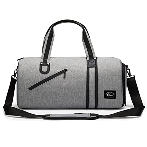 CHEREEKI Duffel Bag, Sports Gym Bag with Shoes Compartment & Wet Pocket for...