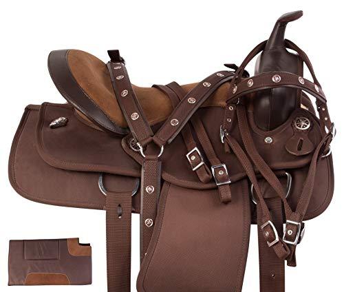 Acerugs 14 15 16 17 18 Western Pleasure Show Horse Saddle Light Weight Cordura...