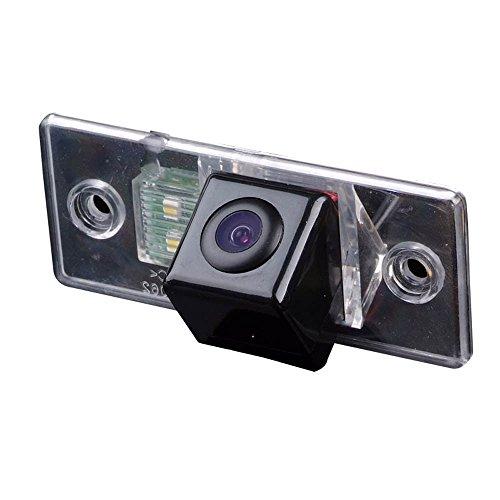 Auto Rückfahrkamera in Kennzeichenleuchte Wasserdicht Nummernschild Einparkkamera für VW Volkswagen Touareg/Tiguan Santana/Jetta/Polo/Passat/Skoda/Golf/Cayenne