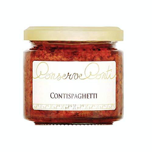 ConTispaghetti (pesto di pomodori secchi) in olio extravergine d'oliva Vaso da ml. 212 - produzione artigianale Conserve Conti
