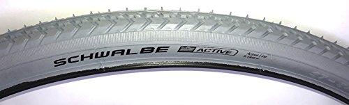 Bohle Bereifung Set Fahrrad und Rollstuhl 24 x 1-3/8 (37-540) grau